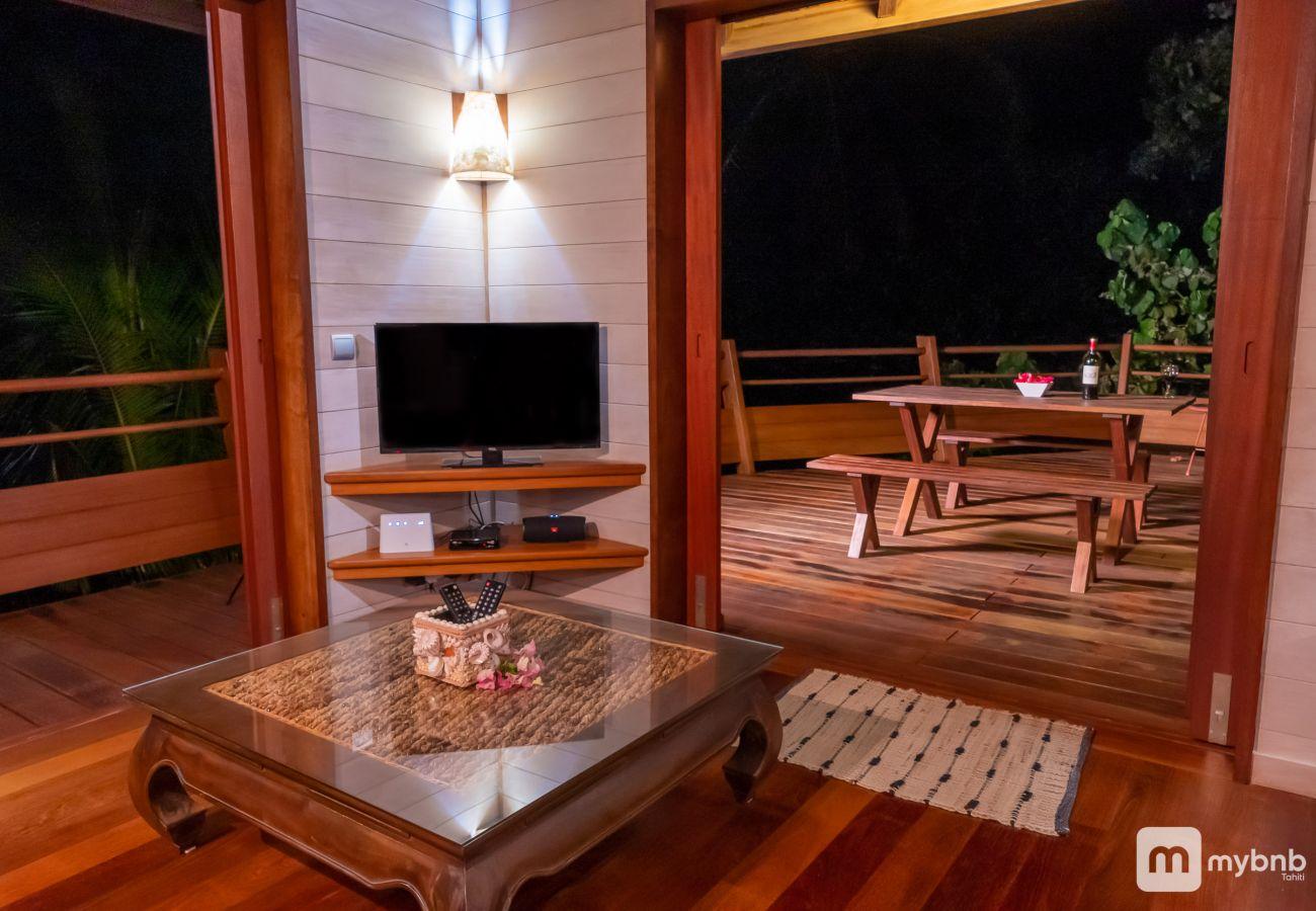 Villa à Tiahura - Villa Aute 21 Legends Moorea
